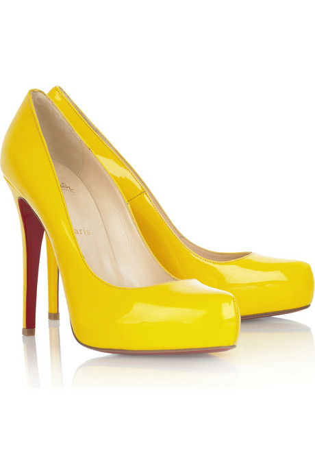 Christian Louboutin Rolando 120 patent leather pumps