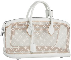 LV Monogram Transparent Lockit East-West