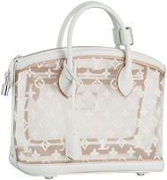 LV Monogram Transparent Lockit