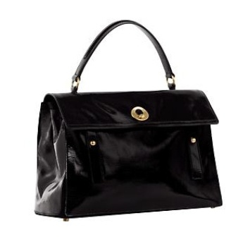 Yves_Saint_Laurent_Muse_Two_Patent_Bag
