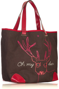 anya-hindmarch-deer-canvas-tote