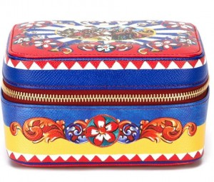 beauty case dolce gabbana maiolica