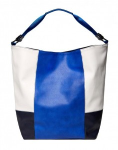 borsa color block benetton