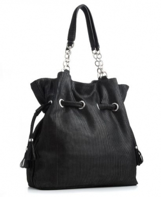 calvin-klein-soft-metallic-shopper-nero