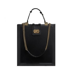chanel-a66715-y07357-94305-glazed-black-calfskin-large-tote-bags