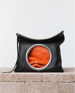 clutch-celine-nera-e-orange