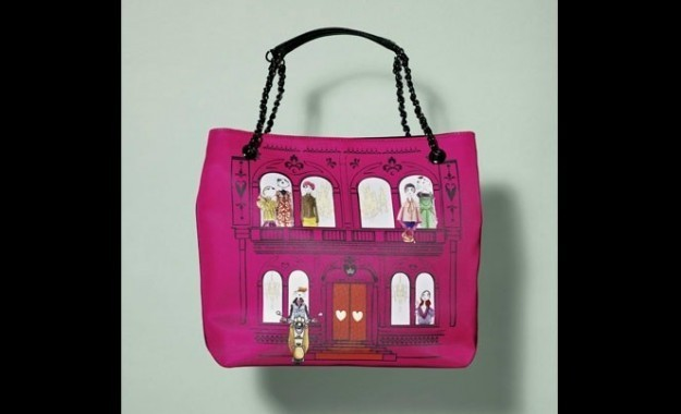 love-moschino-shopper-rosa-con-illustrazioni