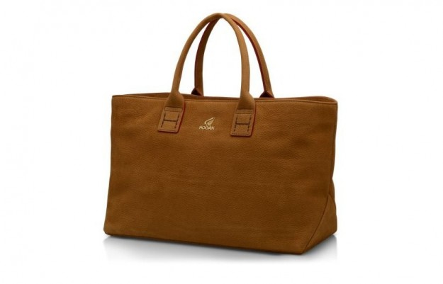 shopper-hogan-in-pelle-marrone