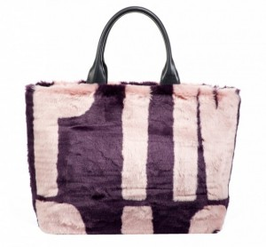 shopper-in-ecopelliccia-pinko-bicolor