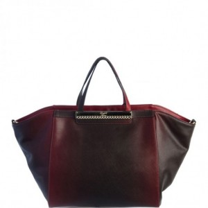 shopper-trapezoidale-burgundy